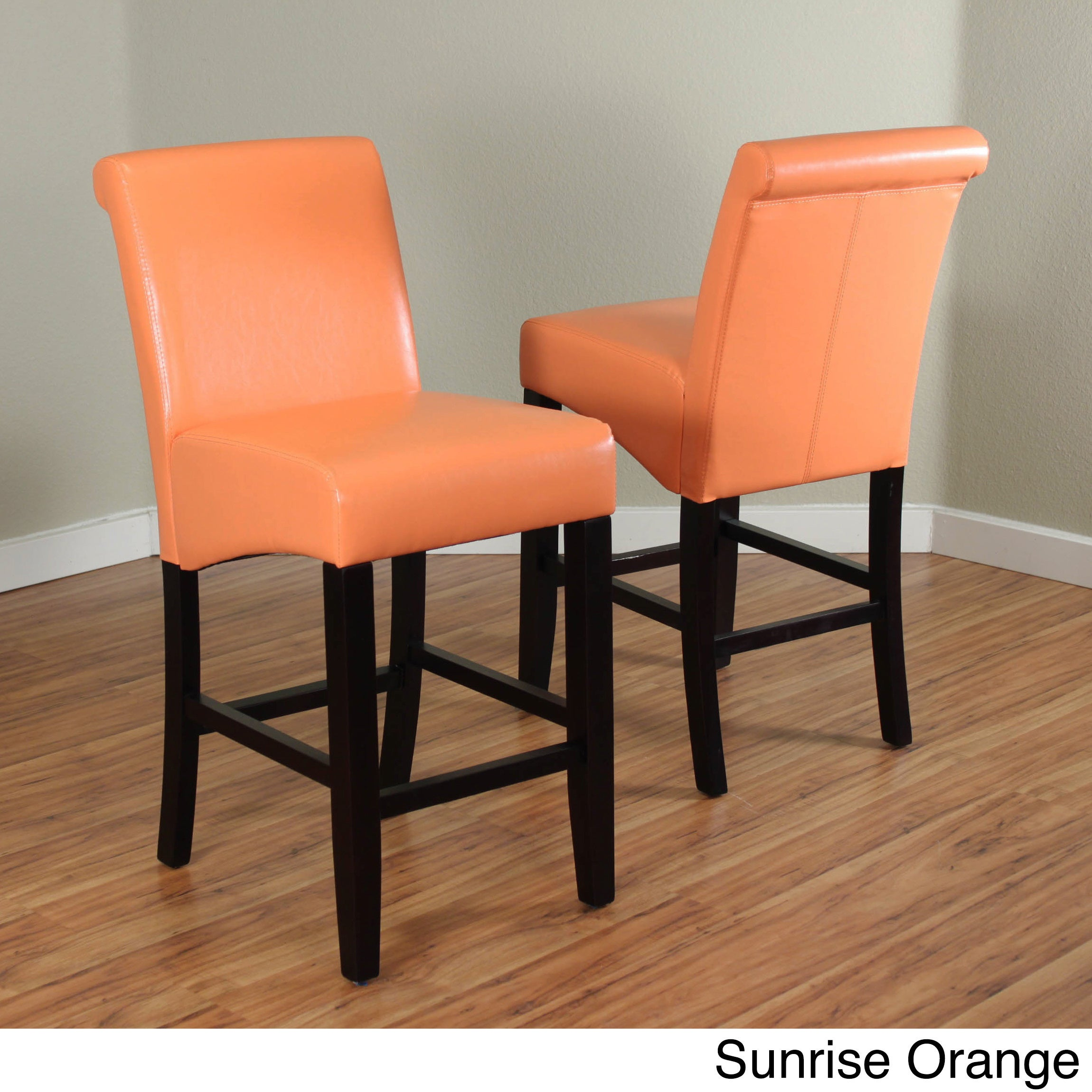 Popular 225 List Orange Counter Stools