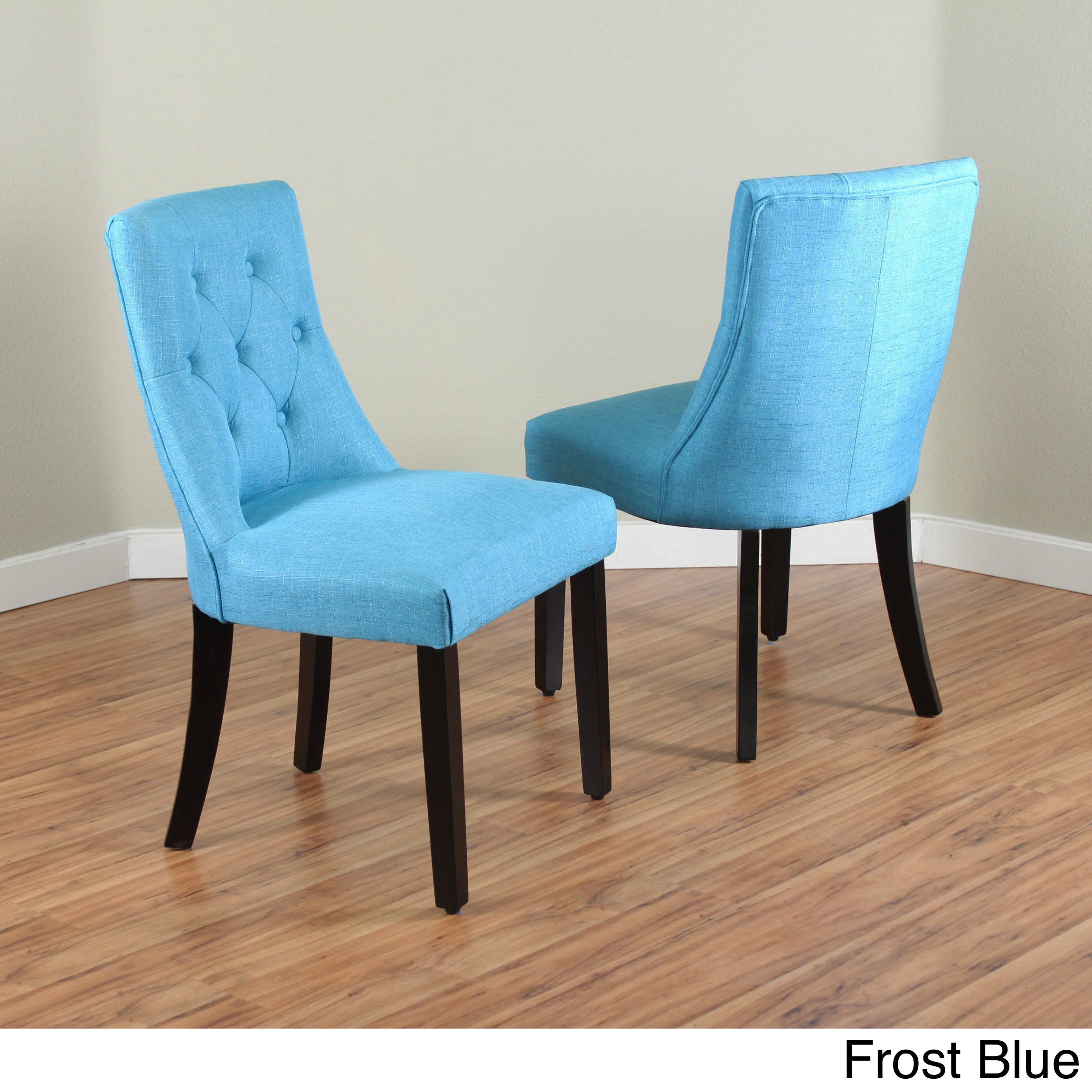 Monsoon Pacific Bellcrest Parsons Chair Set Of 2 Frost Blue
