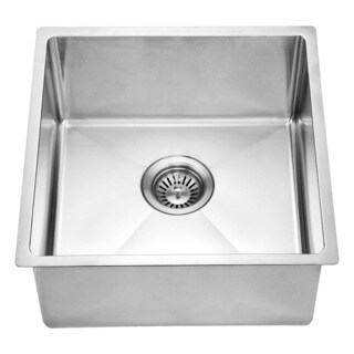 Dawn® Stainless Steel Undermount Single Bowl Bar Sink