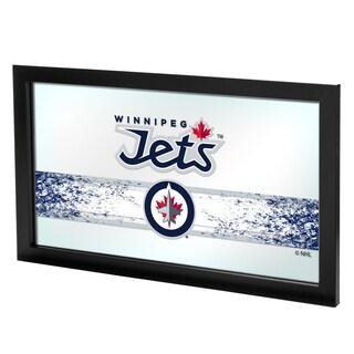 NHL Framed Logo Mirror - Winnipeg Jets