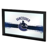 NHL Framed Logo Mirror - Vancouver Canucks