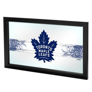 NHL Framed Logo Mirror - Toronto Maple Leafs