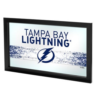 NHL Framed Logo Mirror - Tampa Bay Lightning