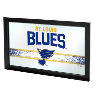 NHL Framed Logo Mirror - St. Louis Blues