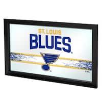 NHL Framed Logo Mirror - St. Louis Blues