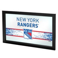 NHL Framed Logo Mirror - New York Rangers