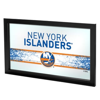 NHL Framed Logo Mirror - New York Islanders