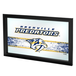 NHL Framed Logo Mirror - Nashville Predators
