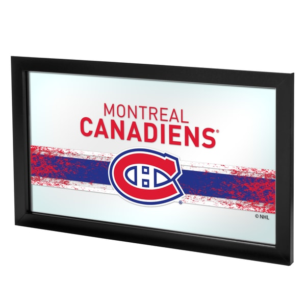 NHL Framed Logo Mirror - Montreal Canadiens