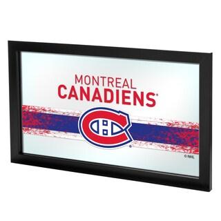 NHL Framed Logo Mirror - Montreal Canadiens