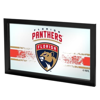 NHL Framed Logo Mirror - Florida Panthers