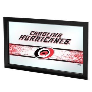 NHL Framed Logo Mirror - Carolina Hurricanes