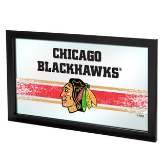 NHL Framed Logo Mirror - Chicago Blackhawks
