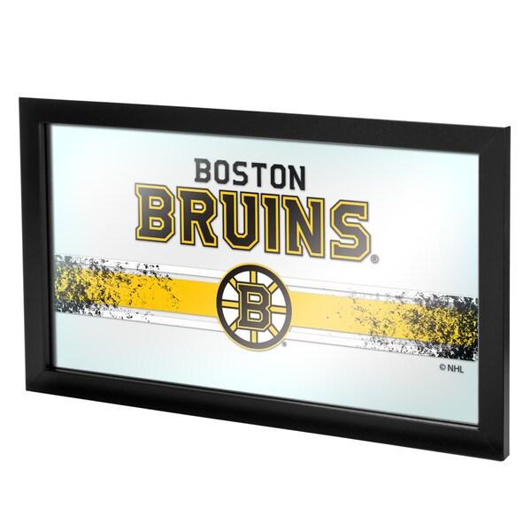 NHL Framed Logo Mirror - Boston Bruins