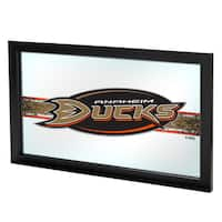 NHL Framed Logo Mirror - Anaheim Ducks