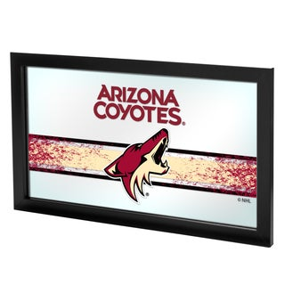 NHL Framed Logo Mirror - Arizona Coyotes
