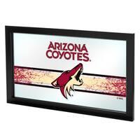 NHL Framed Logo Mirror - Arizona Coyotes
