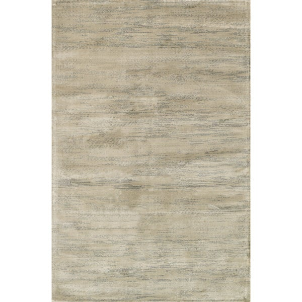Traditional Distressed Grey/ Blue Abstract Rug - 3'3 x 5'3