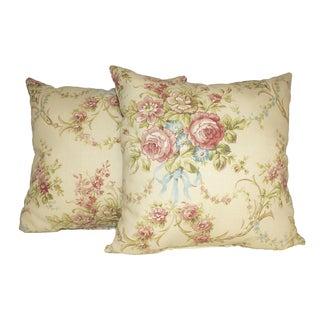 Pavillion Scroll 16-inch Throw Pillows (Set of 2)