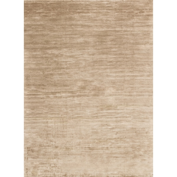 Traditional Distressed Gold/ Beige Abstract Rug - 9'2 x 12'2