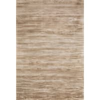 Traditional Distressed Gold/ Beige Abstract Rug - 5' x 7'6