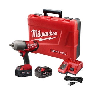 Milwaukee 2763-22 M18 FUEL 1/2-Inch High-Torque Impact Wrench with Ring Kit