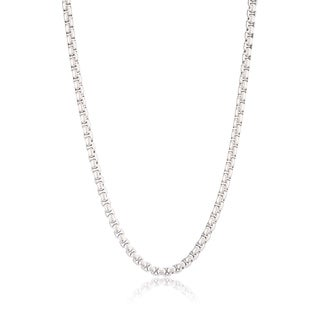 Men's Stainless Steel 24 inch Box Chain (5 mm)