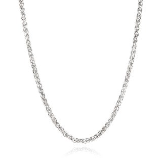 Men's Stainless Steel 24 Inch Spiga Chain Necklace (5 mm)|https://ak1.ostkcdn.com/images/products/10707834/P17767210.jpg?_ostk_perf_=percv&impolicy=medium