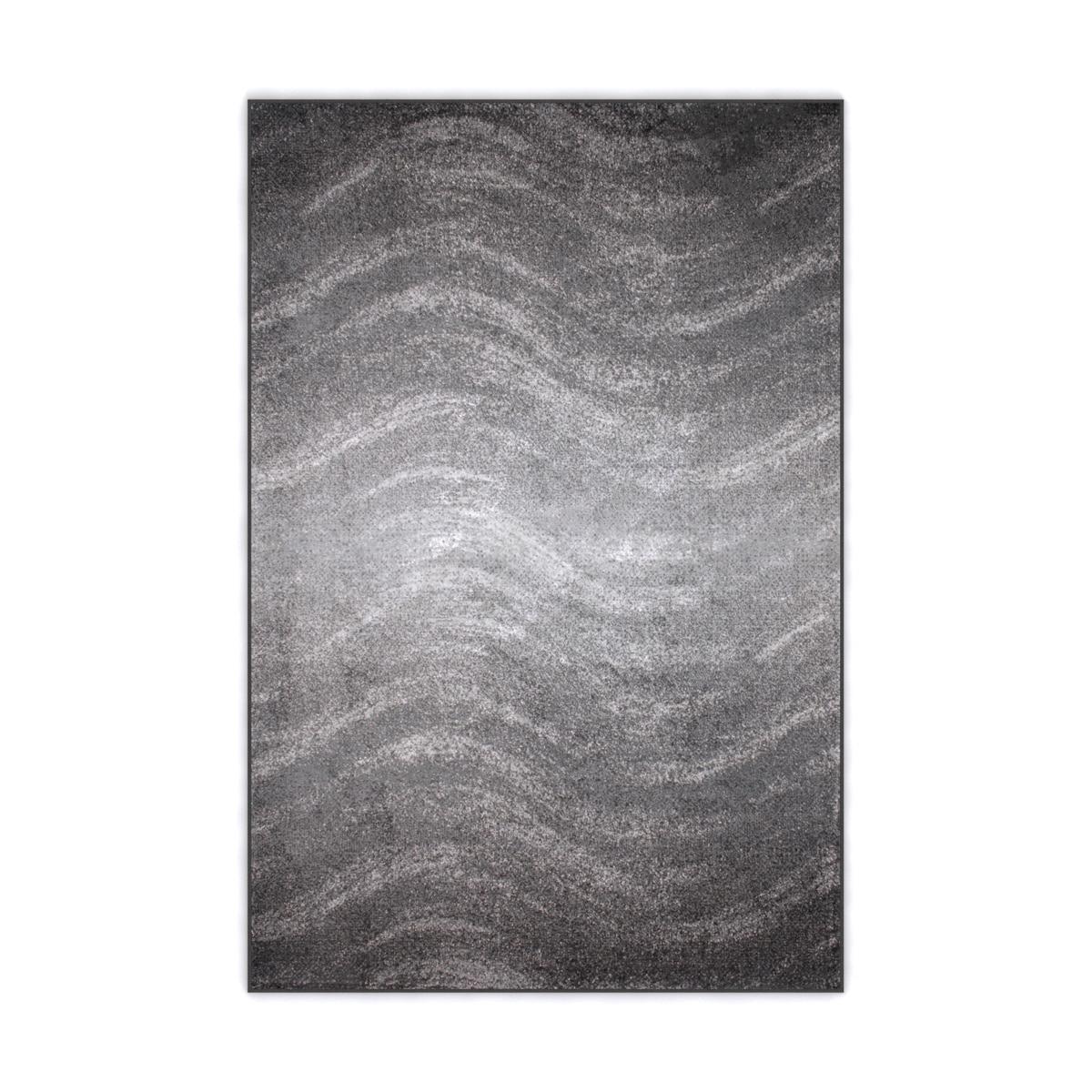 nuLOOM Contermporary Ombre Waves Grey Rug (4' x 6') (Grey...