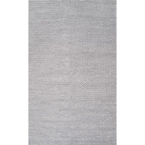 nuLOOM Handmade Casual Braided Wool Area Rug