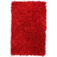 "Red Shimmer Shag Rug - 30""x50"""