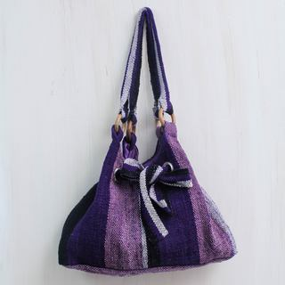Handcrafted Wool 'Dance Cumbe-cumbe' Hobo Bag (Peru)