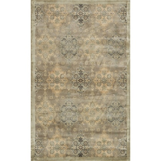 Francis Taupe/ Gold Rug (3'3 x 5'3)