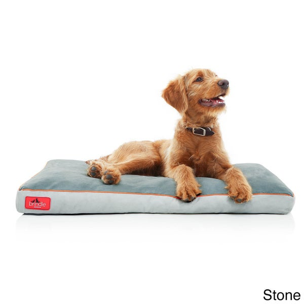 brindle memory foam dog bed with removable washable cover free shipping on orders over 45