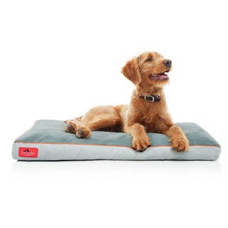 Brindle Memory Foam Dog Bed with Removable Washable Cover (More options available)