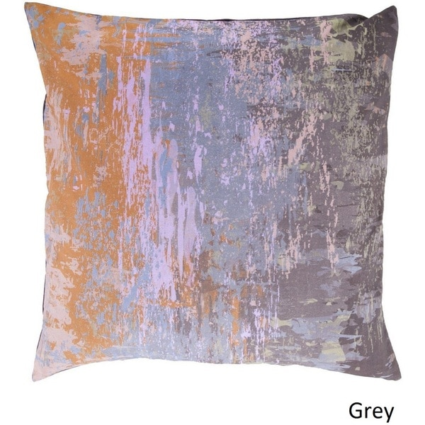 Decorative Southsea 22-inch Abstract Poly or Down Filled Pillow