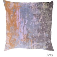 Decorative Southsea 22-inch Abstract Poly or Feather Down Filled Pillow