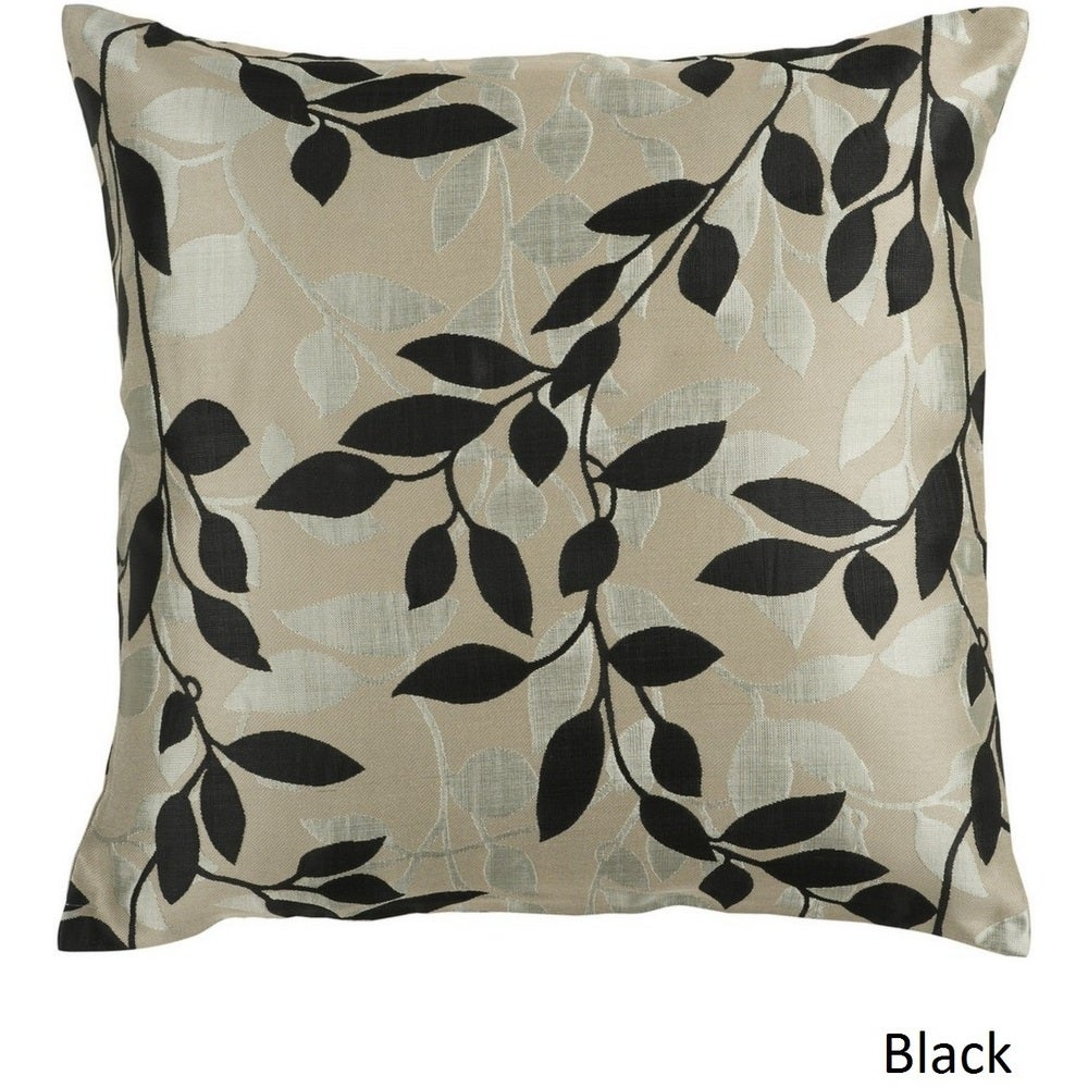 Shop Decorative Skegness 22-inch Leaves Poly or Feather Down Filled Pillow - 10708140