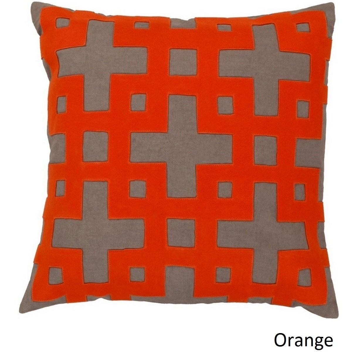 Jones 22-inch Decorative Geometric Feather Down or Polyester Filled Pillow (Down)