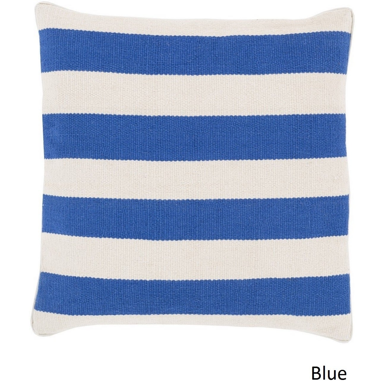 Decorative Redditch 20-inch Stripe Pillow Cover | eBay