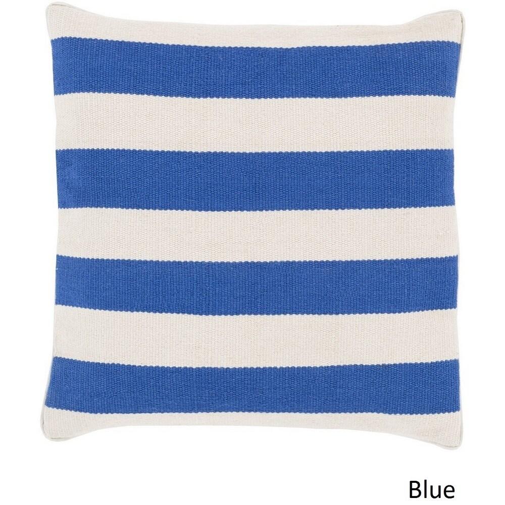 Shop Decorative Redditch 22-inch Stripe Pillow Cover - 10708166