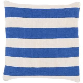 Decorative Redditch 22-inch Stripe Pillow Cover