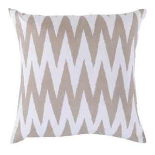 Decorative Snodland 18-inch Chevron Poly or Down Filled Pillow