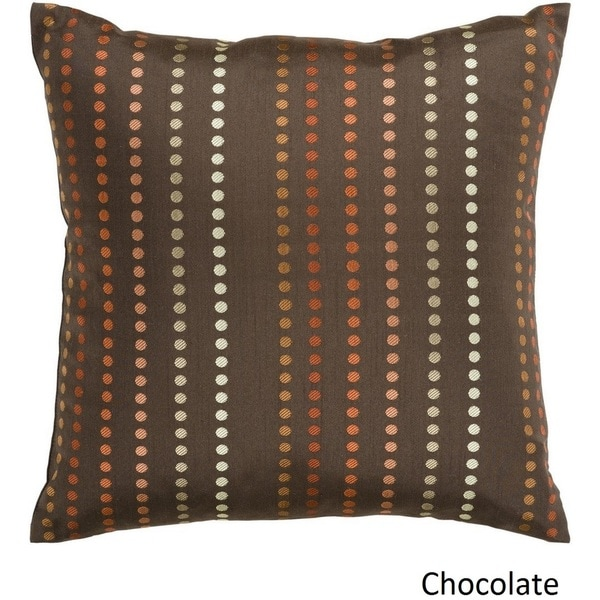 Decorative Sleaford 18-inch Dotted Poly or Feather Down Filled Pillow