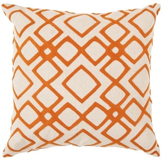 Decorative Rothwell 18-inch Trellis Poly or Down Filled Pillow