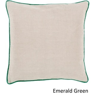 Decorative Kirwan 20-inch Poly or Down Filled Pillow