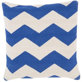 Decorative Rochdale 20-inch Chevron Poly or Down Filled Pillow