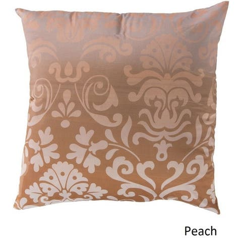 Decorative Southall 18-inch Floral Poly or Feather Down Filled Pillow
