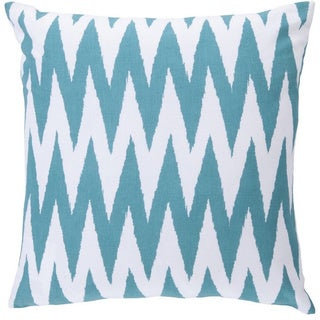 Decorative Snodland 22-inch Chevron Pillow Cover