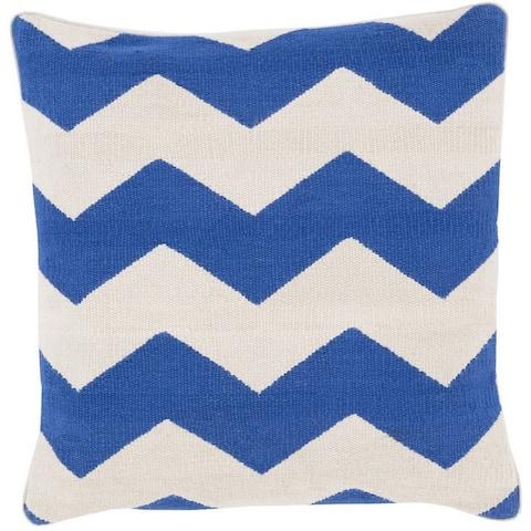 Decorative Rochdale 22-inch Chevron Pillow Cover